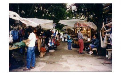 Outdoor Market at Museo