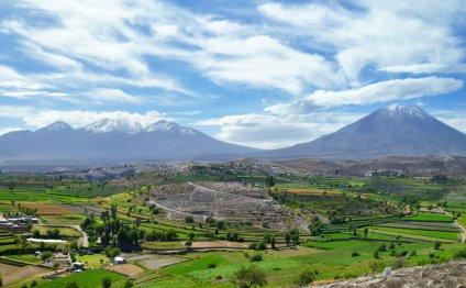 List of volcanoes in Peru