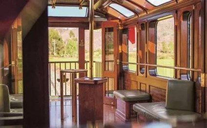 The bar carriage aboard the