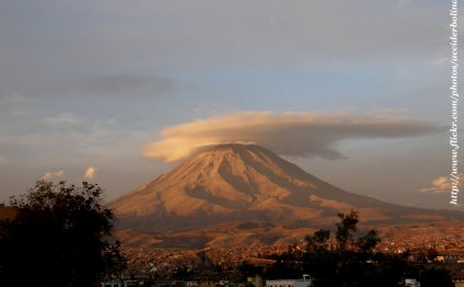 Arequipa is located on the