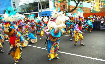 The Corso de Wong Parade in
