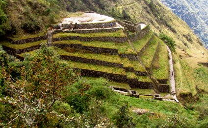 The Inca site