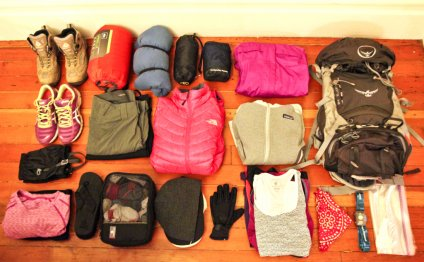 Packing List: 4-Day Inca Trail