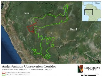 Andes-Amazon Conservation Corridor