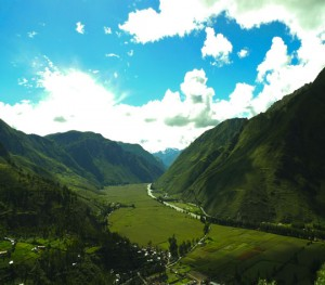 Andes Mountains, Sacred Valley, Peru