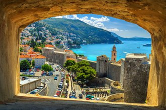 gorgeous views in Dubrovnik