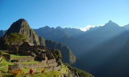 fun time to go to Machu Picchu