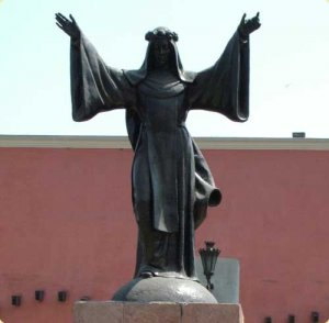 Statue of Saint Rose