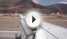 Landing in Cusco Airport - Peru