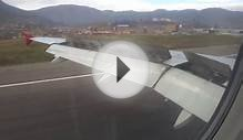 TACA Peru 007 landing in Cuzco (CUZ) Breathtaking approach!